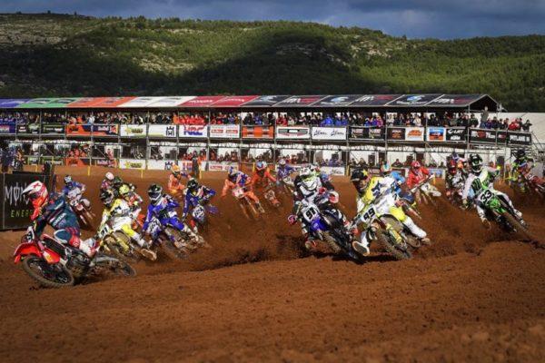 MXGP Valencia, start of Qualifyng Race
