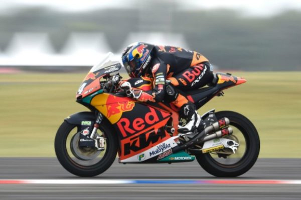 Moto2 Austin, FP2: Oliveira in command, Lowes 2nd ahead of