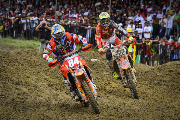 Jeffrey Herlings and Tony Cairoli