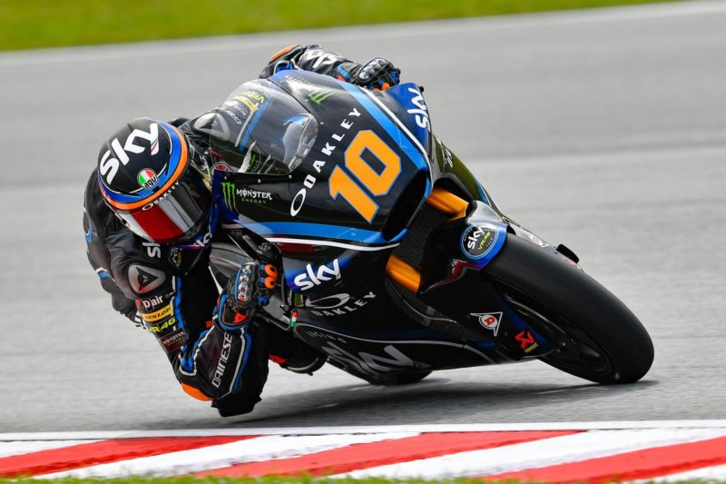 Moto2 Valencia Qualifying Second Pole Of The Season For Luca Marini Bikeandrace